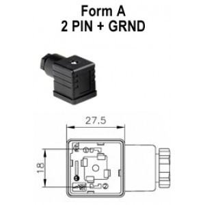 asco din connector wiring diagram form a 3 pin atam cne electrical din 43650a solenoid valve ...