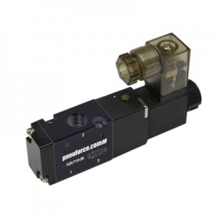3-Way Solenoid Air Spool Valves