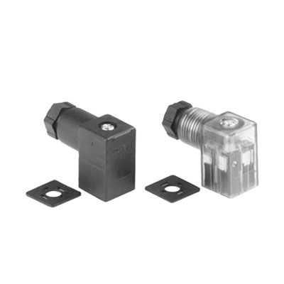 Form C DIN Solenoid Connector