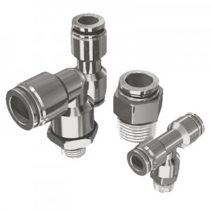 Push To Connect NPT Threaded Fittings