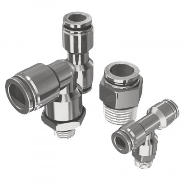 All Metal Body Push To Connect Fitting