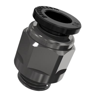 PU Connector Straight Tube Accessory Replacement Universal 1//4-Inch OD