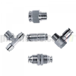 Inch Tube Stainless Steel Push In Fittings