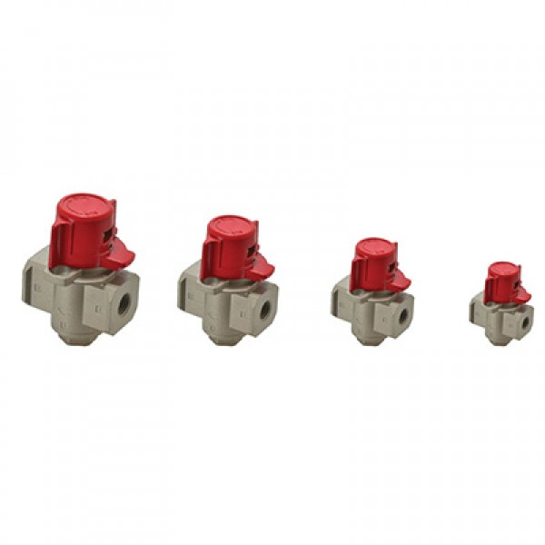 FRL Airline Safety Lockout Valves
