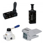 Pneumatic Manual Operated Valves