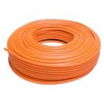 Orange Polyethylene Tubing