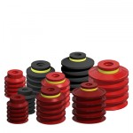 Multiple Bellows Vacuum Suction Cups