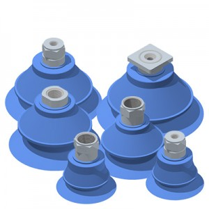 Single Bellows Vacuum Suction Cups PU Compound