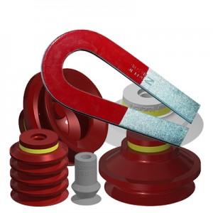 FDA Compliant Metal Detectable Silcone Vacuum Cups