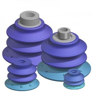 Dual Durometer Polyurethane Vacuum Suction Cups