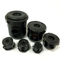 L Port Pump Inlet Vacuum Filters